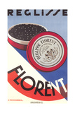Poster for Florent Pastilles Posters