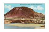 Monument Hill, Thermopolis Posters