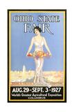 Ohio State Fair Poster, Columbus Plakater