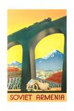 Soviet Armenia Travel Poster Prints