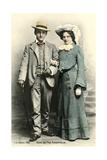Herr Og Fru Aggerholm Print