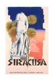 Travel Poster for Syracuse, Sicily Prints