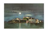Alcatraz by Night Posters