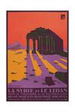 Poster for Syria and Lebanon Kunstdrucke