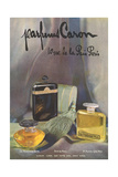 Parfumes Caron Affischer