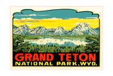 Grand Teton Decal Kunst