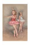 Little Girl Ballerinas Premium-giclée-vedos