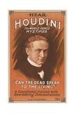 Houdini Poster Kunstdrucke