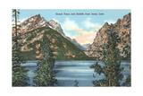 Jenny Lake, Saddle, Grand Teton Affiches