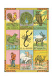 Mexican Loteria Cards Posters