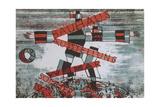 Poster for Bauhaus Exhibition Giclée-Premiumdruck