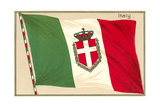 Flag of Italy Print
