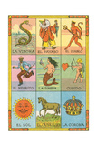 Mexican Loteria Cards Prints