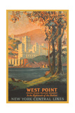 West Point Travel Poster Plakater