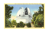 Hooker Reflector Telescope, Mt. Wilson Prints