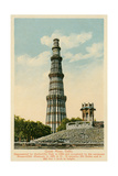 Qutub Minar Tower, Delhi, India Art