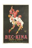 Poster for Bec-Kina Apertif Giclée-Premiumdruck