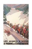 Poster for St. Pierre De Chartreuse Premium-giclée-vedos