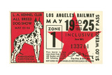 Ticket to Dog Show Posters