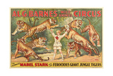 Mabel Stark, Tiger Trainer Posters