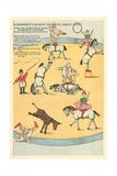Vintage Circus Toys Kunstdrucke