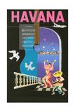 Cuban Travel Poster Kunst