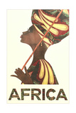 Africa Travel Poster Julisteet