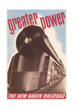 Greater Power, New Haven Railroad Poster