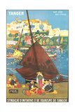 Tangier Travel Poster Plakat