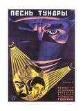 Russian Adventure Film Poster Lámina giclée prémium