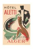 Hotel Aletti, Algerian Casino Print