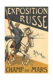 Russian Exposition, Paris Prints