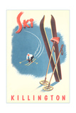 Killington Ski Poster Poster