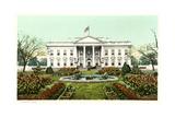 Das Weiße Haus Kunstdrucke