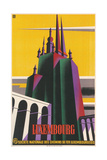 Travel Poster for Luxembourg Prints