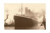 Titanic at the Dock Prints