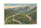 Mt. Mitchell Range Kunstdrucke