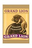 Grande Lion Label Kunst
