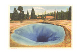 Morning Glory Pool, Yellowstone Plakater