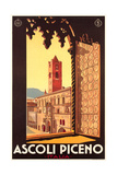Travel Poster for Ascoli Piceno Prints