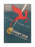 Pegasus, Levant Fair Posters