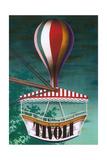 Travel Poster for Tivoli Kunst