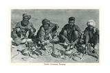 Snake Charmers, Benares, India Poster