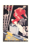 Russian Army Film Poster Premium Giclee Print