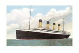 White Star Line, RMS Titanic Premium-giclée-vedos