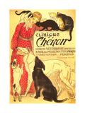 Clinique Cheron, Vet Plakat