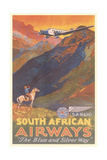 South African Airways Poster Posters