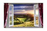 Amazing Window View Kunstdrucke von  MrEco99