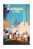 Fly to Nassau Poster Posters