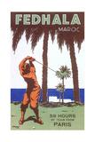 Golfing in Morocco Kunst